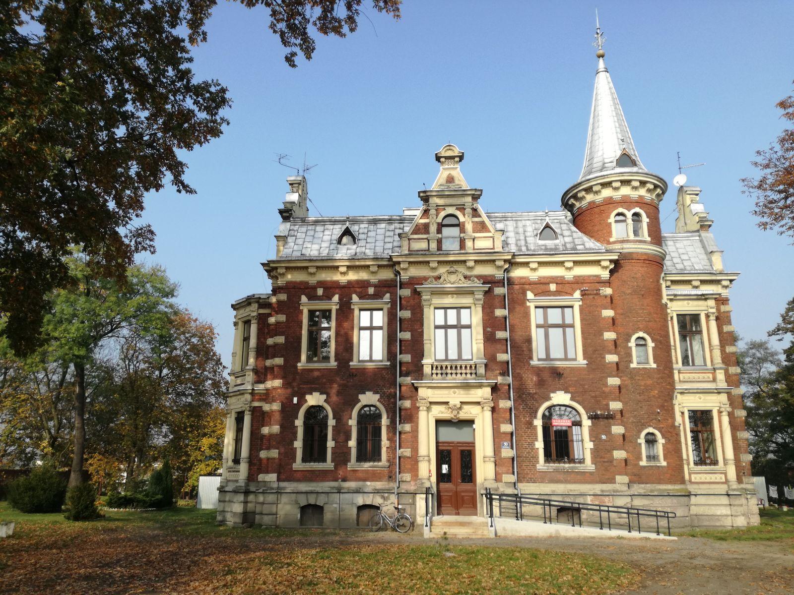 Zdjęcie siedziby Ośrodka Pomocy Społecznej w Rudzińcu z siedzibą w Pławniowicach