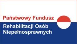 Logo Państwowego Funduszu Rehabilitacji Osób Niepełnosprawnych