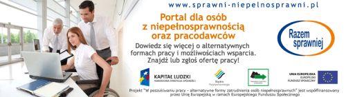 Logo portalu dla osób z niepełnosprawnością oraz pracodawców